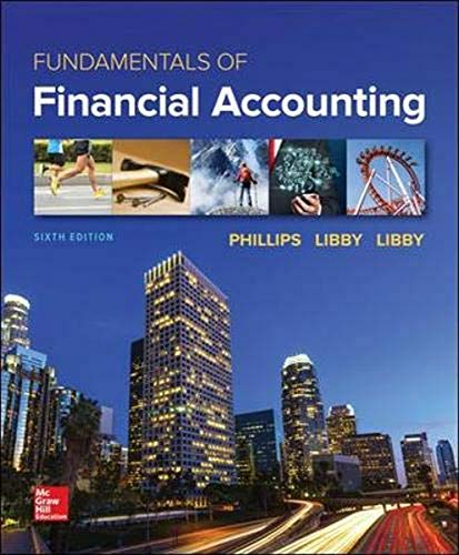 FUNDAMENTALS OF FINANCIAL ACCOUNTING, 6ED