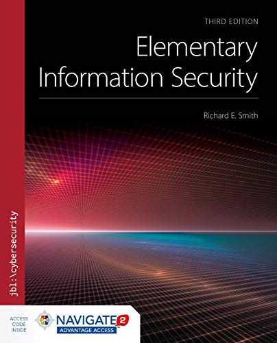 Elementary Information Security, 3rd Edition