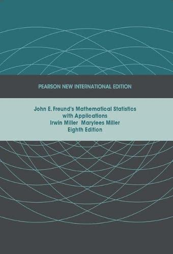 PDF John E Freund S Mathematical Statistics With