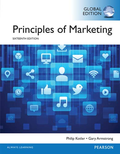 Principles of Marketing 17th GLOBAL Edition by Kotler PDF eTextBook