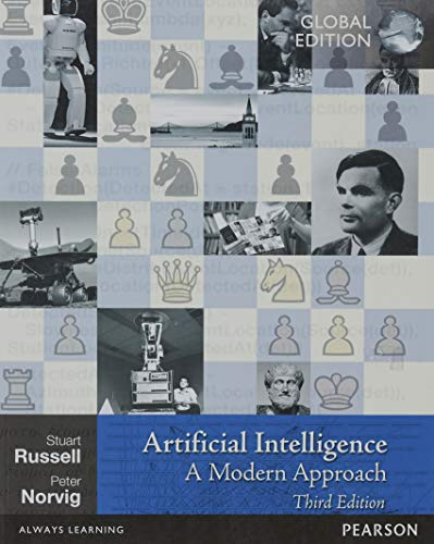 Artificial Intelligence: A Modern Approach Book Cover Picture