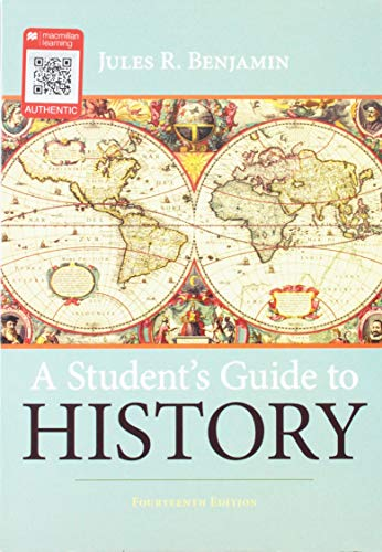 Book cover for A Student's Guide to History