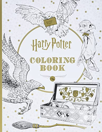 Harry Potter Coloring Book - Scholastic