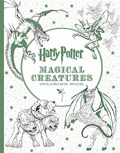 Harry Potter Magical Creatures Coloring Book - Scholastic