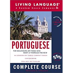 Portuguese Complete Course : Basic-Intermediate, Compact Disc Edition (LL(R) Complete Basic Courses)