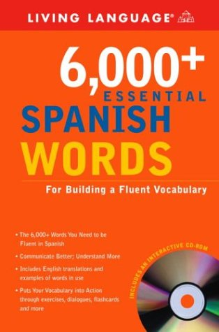 6,000+ Essential Spanish Words with CD-ROM (LL(R) Essential Vocabulary)