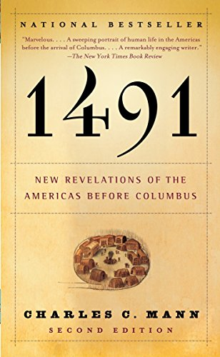 1491: New Revelations of the Americas Before Columbus Book Cover Picture
