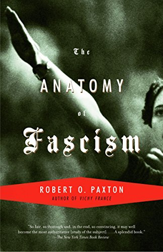 The Anatomy of Fascism Book Cover Picture