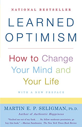 Learned Optimism Book Cover Picture