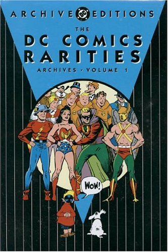 DC Comics Rarities Archive cover