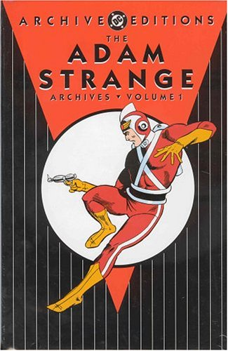 The Adam Strange Archives Vol. 1 Cover