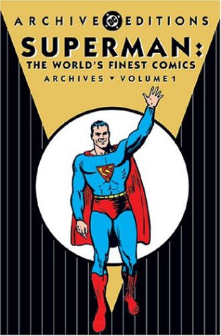 Superman: The World's Finest Comics Archives Vol. 1 Cover