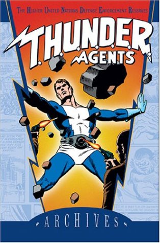 T.H.U.N.D.E.R. Agents Archives Vol. 4 Cover