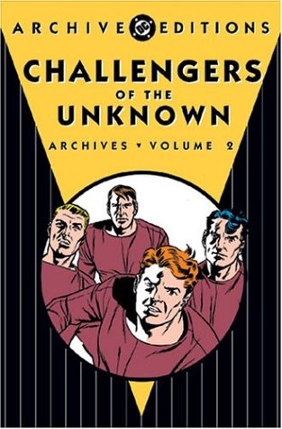Challengers Of The Unknown Archives Vol. 2 Cover