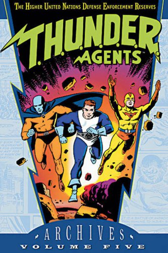 T.H.U.N.D.E.R. Agents Archives Vol. 5 Cover