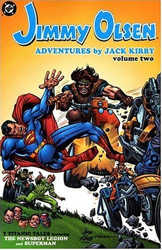 Jimmy Olsen: Adventures By Jack Kirby Vol. 2 Cover