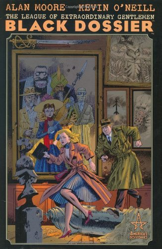 The League of Extraordinary Gentlemen: The Black Dossier cover