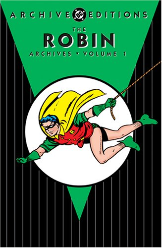 The Robin Archives Vol. 1 Cover