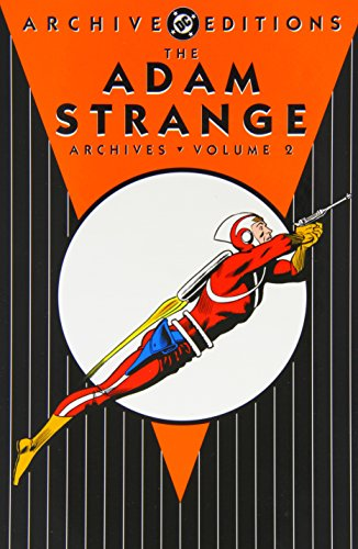 The Adam Strange Archives Vol. 2 Cover