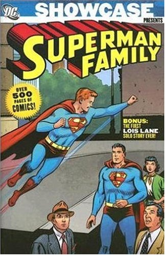 Showcase Presents Superman Family cover