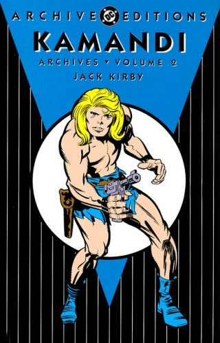 Kamandi Archives Vol. 2 Cover