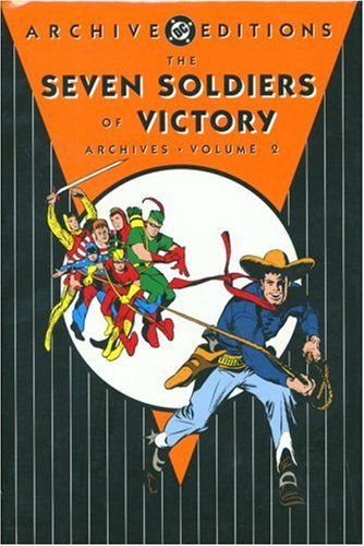 The Seven Soldiers of Victory Archives Vol. 2 Cover