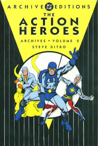 The Action Heroes Archives Vol. 2 Cover