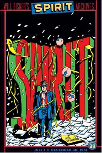 The Spirit Archives 23 cover