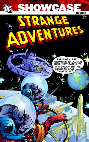 Showcase Presents Strange Adventures cover