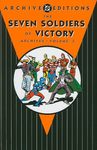 The Seven Soldiers of Victory Archives Vol. 3 Cover