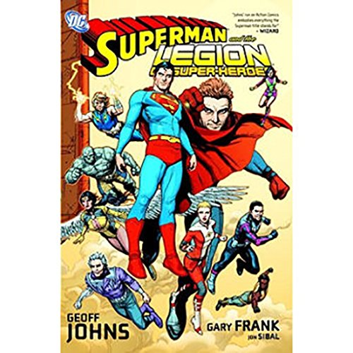 Superman and the Legion of Super-Heroes cover