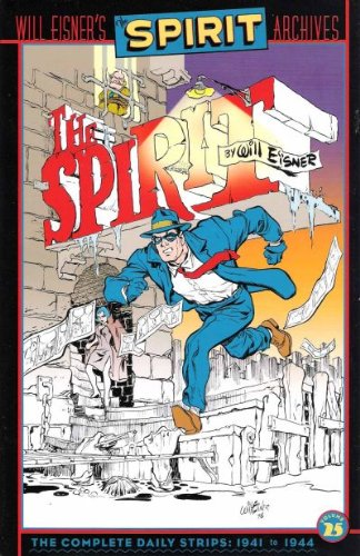 The Spirit Archives 25 cover