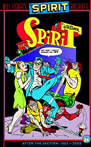 The Spirit Archives Volume 26 cover