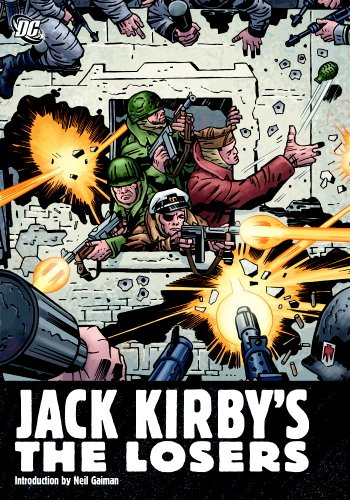 Jack Kirby's The Losers Omnibus Cover