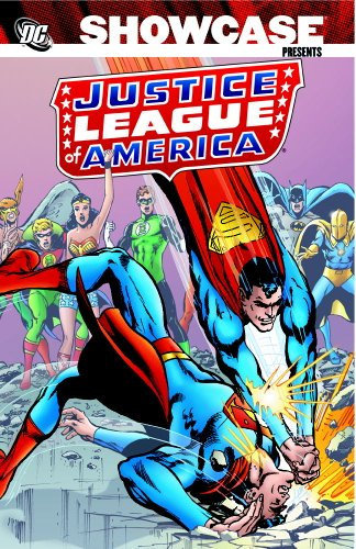 Showcase Presents: The Justice League of America Vol. 4 Cover