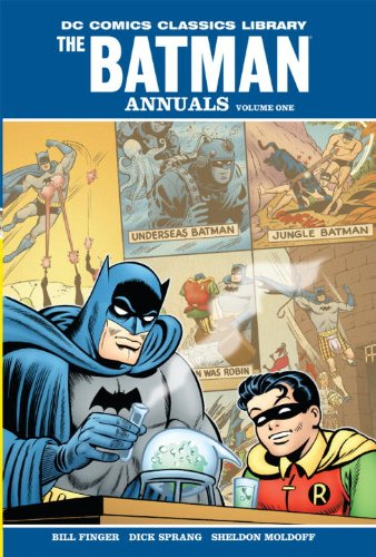 DC Comics Classics Library: Batman: The Annuals Vol. 1 Cover