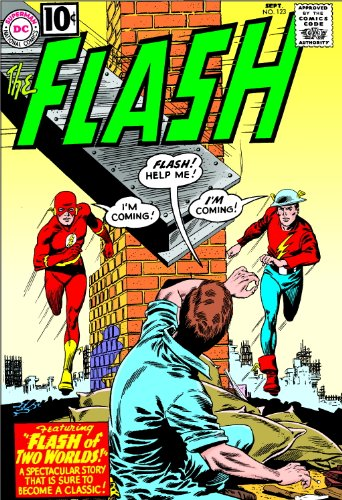 DC Comics Classics Library: The Flash of Two Worlds Cover