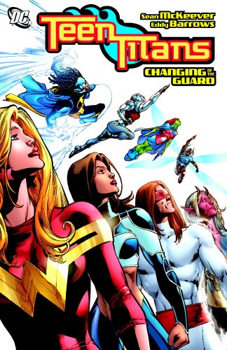 Teen Titans: Changing of theGuard Cover
