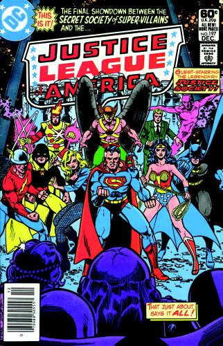 DC Comics Classics Library: The Justice League Of America by George Perez Vol. 1 Cover