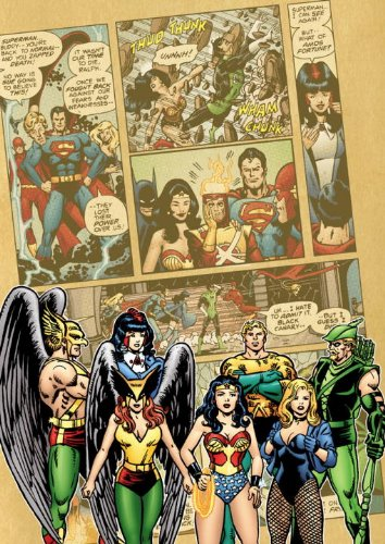 DC Comics Classics Library: The Justice League Of America by George Perez Vol. 2 Cover