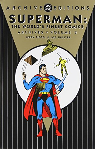 Superman: The World's Finest Comics Archives Vol. 2 Cover