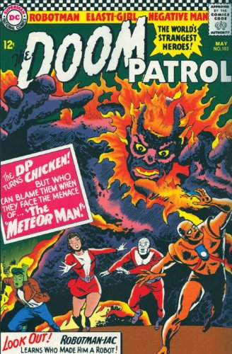 Showcase Presents: Doom Patrol Vol. 2 Cover