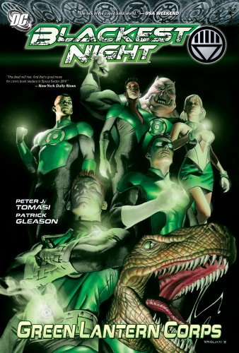 Green Lantern Corps: Blackest Night