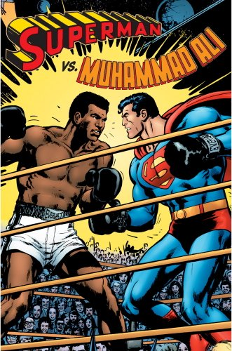 Superman Vs. Muhammad Ali (Deluxe Facsimile Edition) Cover