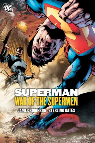Superman: War of the Supermen Cover