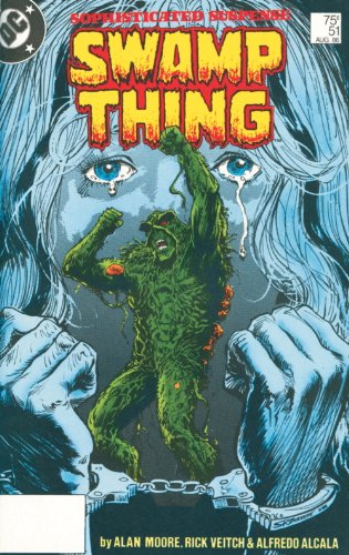 Saga of the Swamp Thing: Book 5 Cover