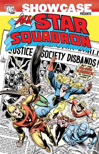 Showcase Presents: All-Star Squadron Volume 1 cover