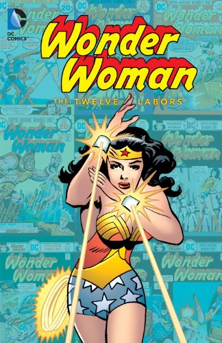 Wonder Woman: The Twelve Labors cover