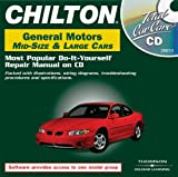 Total Car Care CD-ROM: General Motors 1982-2000 Mid- and Full-Size Cars Jewel Case