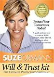 Suze Orman Will &#038; Trust Kit